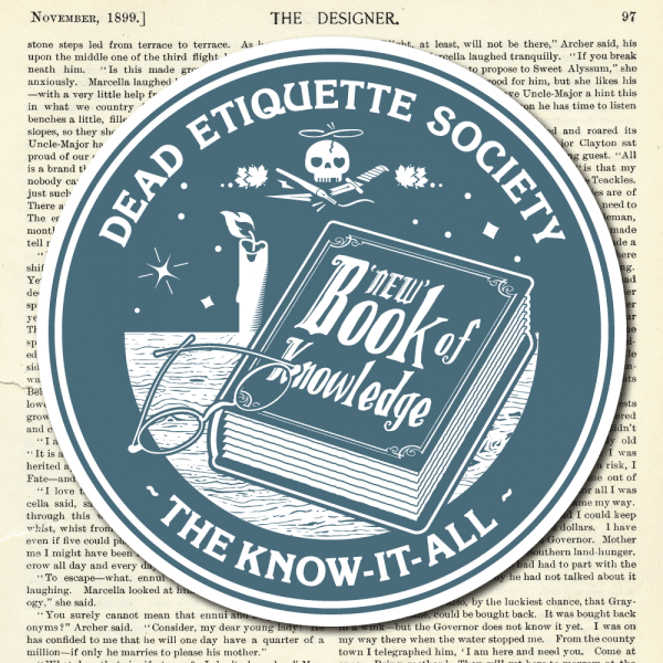 Dead Etiquette Society - The Know-It-All - Denim