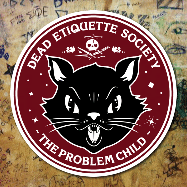 Dead Etiquette Society - The Problem Child - Oxblood